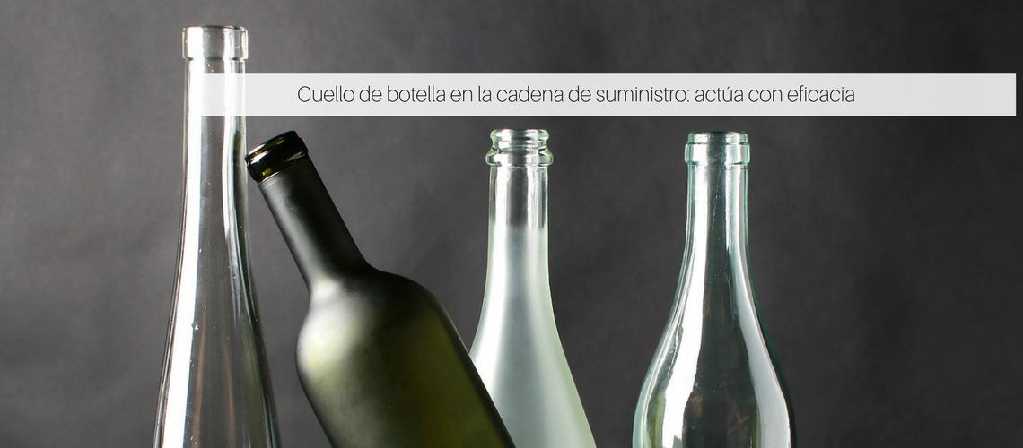 Cuello de botella en la cadena de suministro: actúa con eficacia