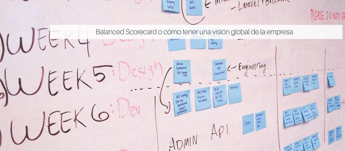 Balanced Scorecard o cómo tener una visión global de la empresa