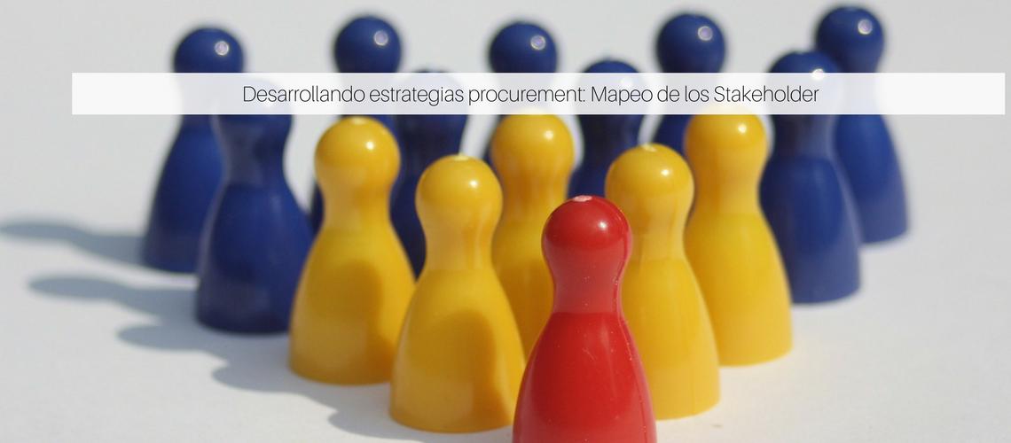 Desarrollando estrategias procurement: Mapeo de los Stakeholder