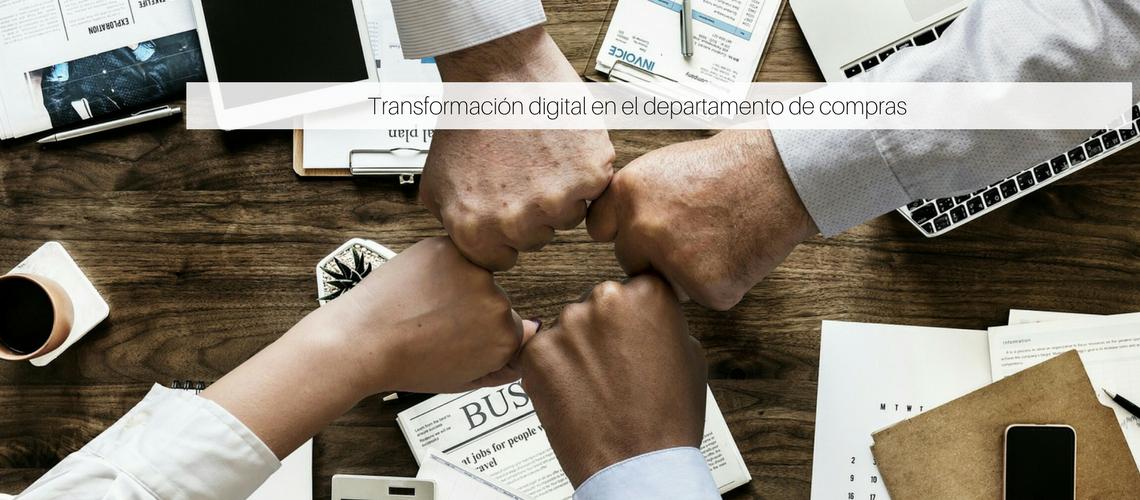 Transformación digital en el departamento de compras