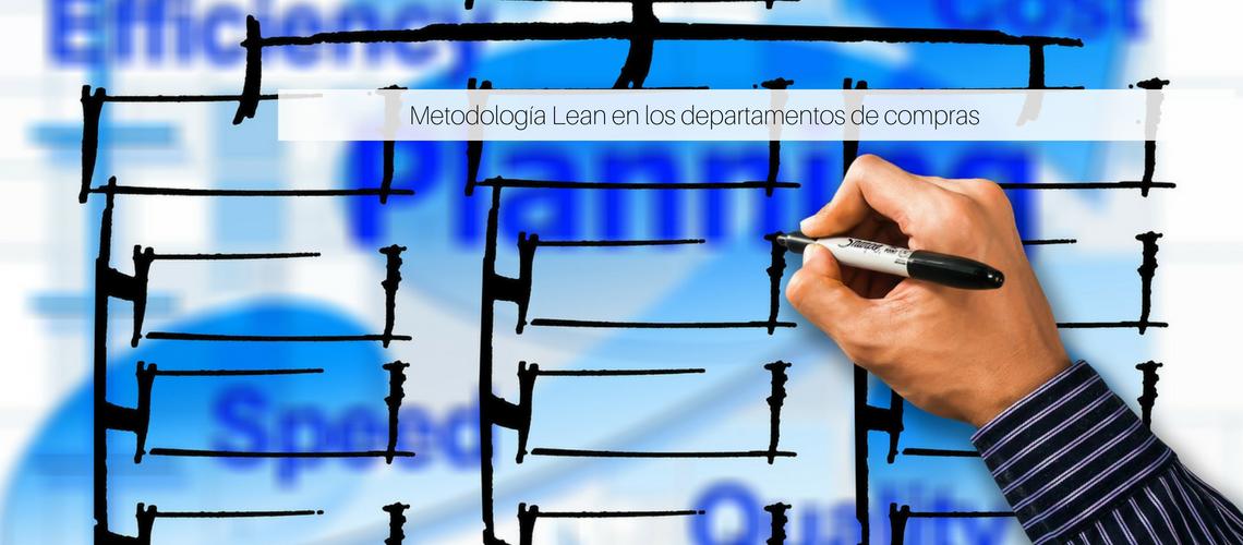 Metodología Lean en los departamentos de compras