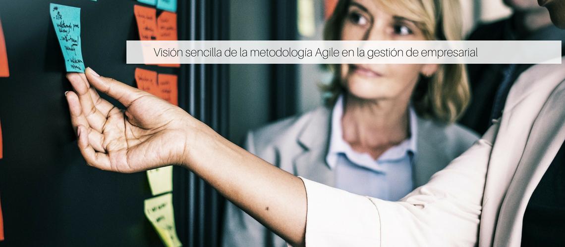 Visión sencilla de la metodología Agile en la gestión de empresarial