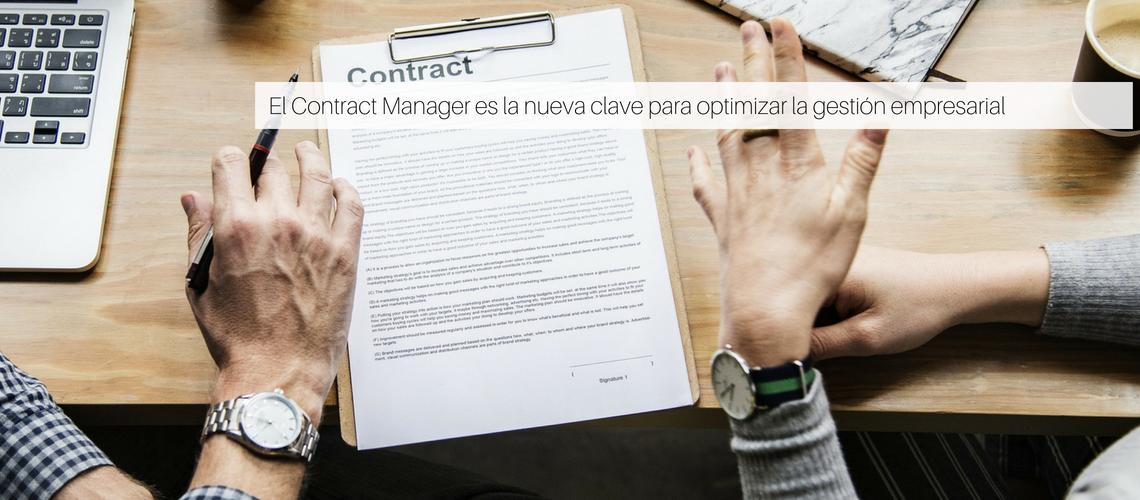 El Contract Manager es la nueva clave para optimizar la gestión empresarial