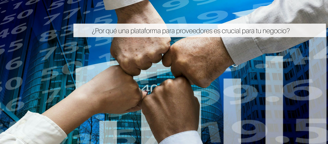 ¿Por qué una plataforma para proveedores es crucial para tu negocio?