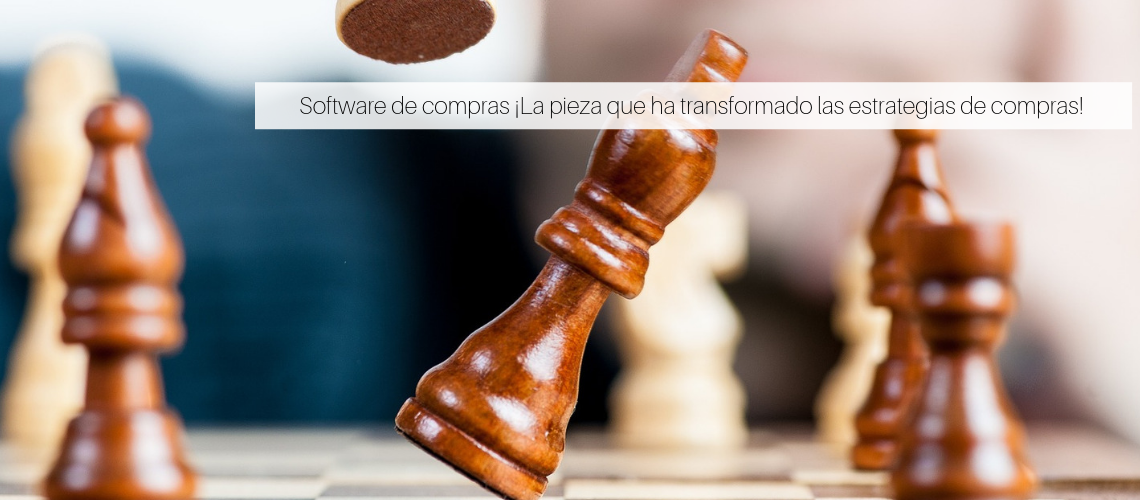 Software de compras, recurso imprescindible para la estrategias de compras