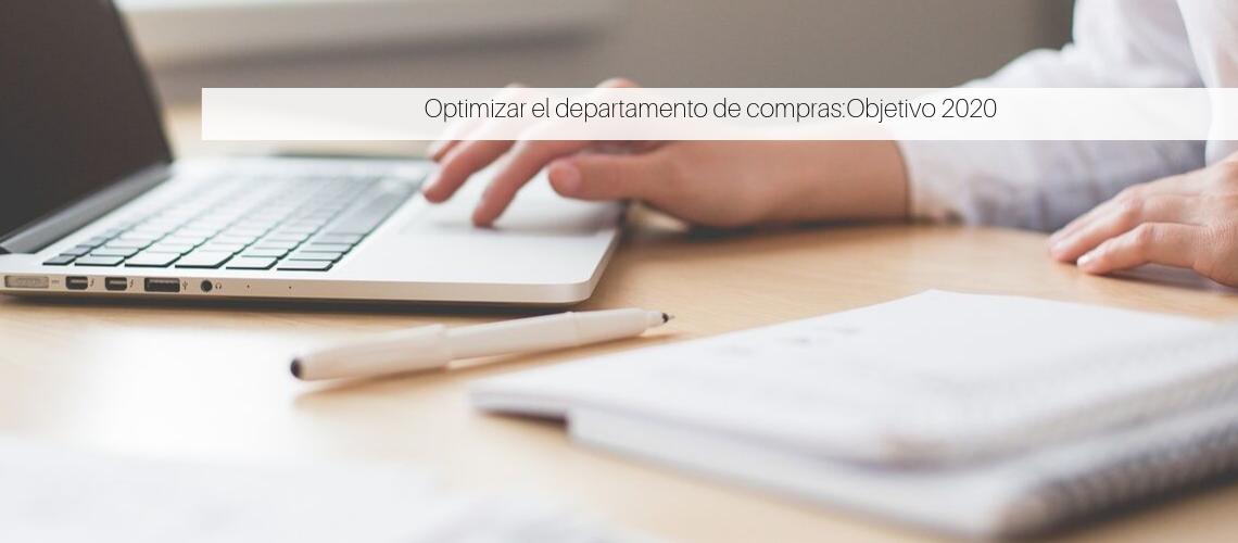 Optimizar el departamento de compras mediante tecnología