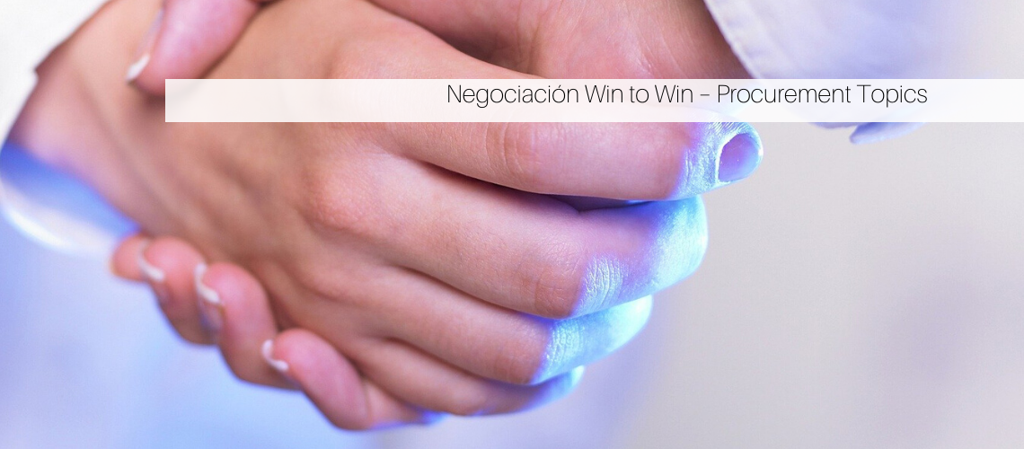 Negociación Win to Win – Procurement Topics