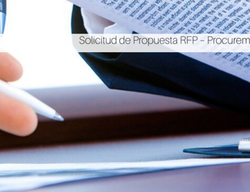 Solicitud de Propuesta RFP – Procurements Topics
