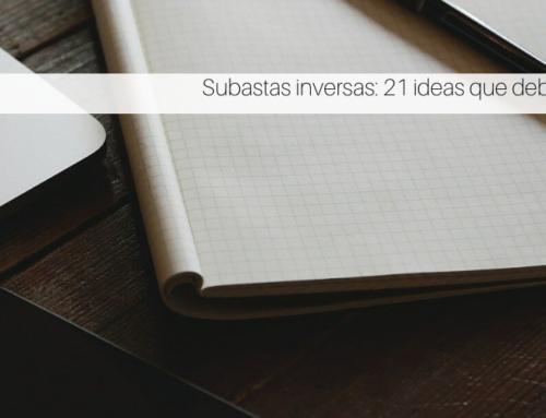 Subastas inversas: 21 ideas que debes conocer