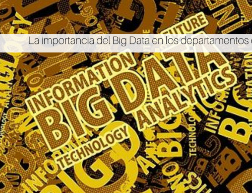 La importancia del Big Data en los departamentos de compras