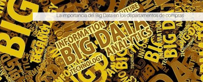 Big Data en los departamentos de compras