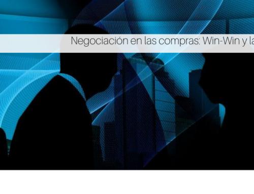 Negociación en las compras: Win-Win y la tecnología