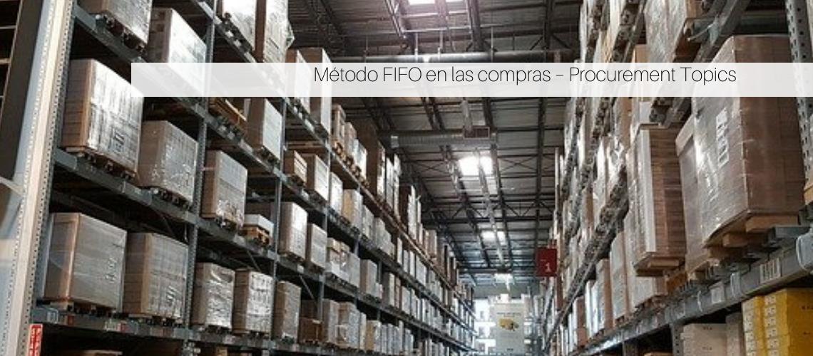 Método FIFO en las compras
