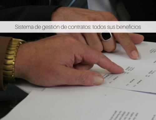 Sistema de gestión de contratos: todos sus beneficios