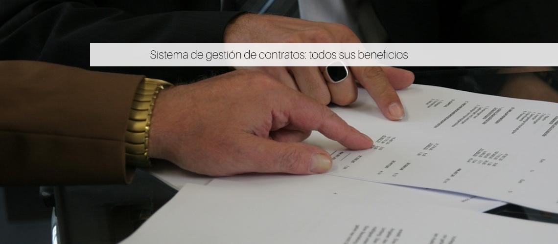 Sistema de gestión de contratos
