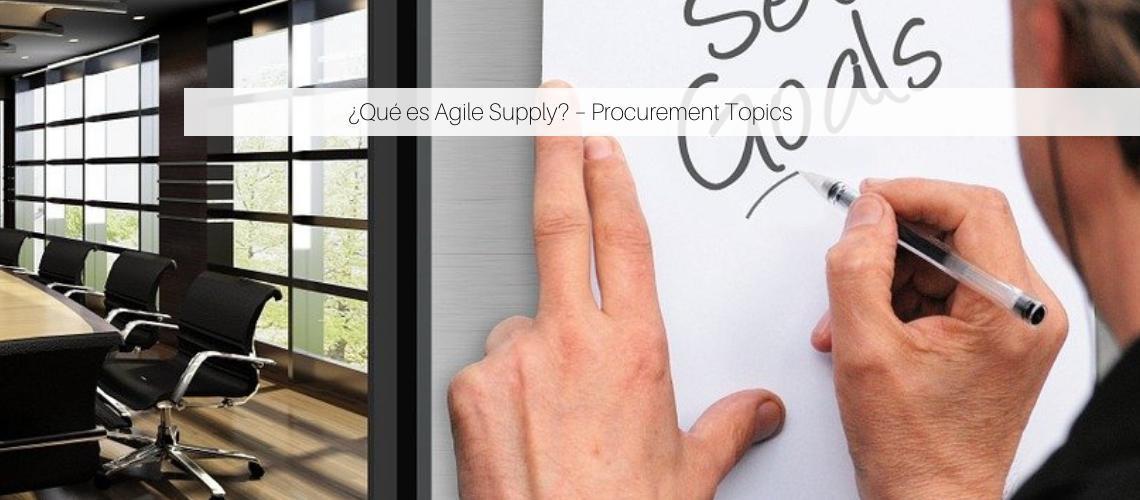 Agile Supply