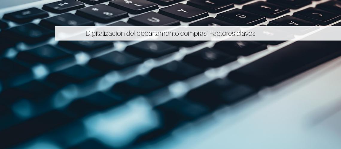 Digitalización del departamento compras