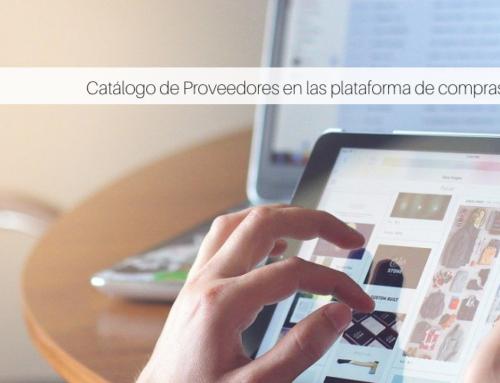 Catálogo de Proveedores en las plataformas de compras
